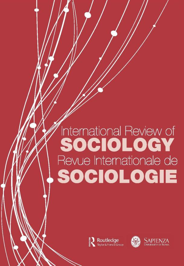 "INTERNATIONAL REVIEW OF SOCIOLOGY - ""What does the Covid-19 crisis reveal about interdisciplinarity in social sciences?"""