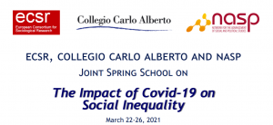 """Spring School """"The Impact of Covid-19 on Social Inequality"""""""