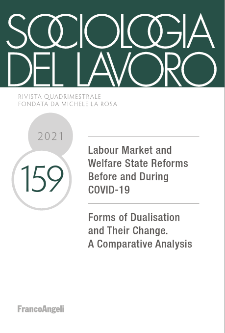 Sociologia del lavoro n.159 Le forme della dualizzazione e il loro cambiamento. Un'analisi comparata