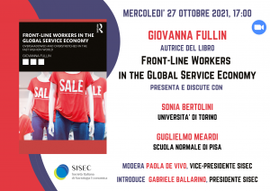 Authors meet critics: Front-Line Workers in the Global Service Economy di Giovanna Fullin